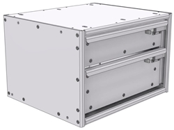 "16-1512-110 Tool drawer 18""Wide X 15.5""Deep X 11-11/16""High with 2 drawers"