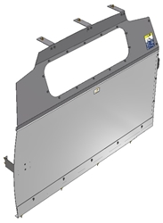 10-GM01-123 Window Contoured Partition for GMC Savana/Chev Express Std. Roof