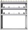 "24-4348-3 Square back bin separator combo shelf unit 43""Wide x 13.5""Deep x 48""High with 3 shelves"