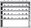 "24-6863-5 Square back bin separator combo shelf unit 67""Wide x 18.5""Deep x 63""High with 5 shelves"