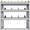 "25-3536-3 Profiled back bin separator combo Shelf unit 34.5""Wide x 15.5""Deep x 36""High with 3 shelves"