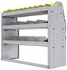 "25-4536-3 Profiled back bin separator combo Shelf unit 43""Wide x 15.5""Deep x 36""High with 3 shelves"