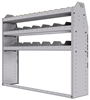 "25-5348-3 Profiled back bin separator combo Shelf unit 58.5""Wide x 13.5""Deep x 48""High with 3 shelves"