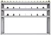 "25-6548-3 Profiled back bin separator combo Shelf unit 67""Wide x 15.5""Deep x 48""High with 3 shelves"