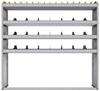 "25-6563-4 Profiled back bin separator combo Shelf unit 67""Wide x 15.5""Deep x 63""High with 4 shelves"