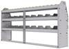 "25-7336-3 Profiled back bin separator combo Shelf unit 75""Wide x 13.5""Deep x 36""High with 3 shelves"