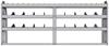 "25-8336-3 Profiled back bin separator combo Shelf unit 84""Wide x 13.5""Deep x 36""High with 3 shelves"