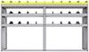 "25-8848-3 Profiled back bin separator combo Shelf unit 84""Wide x 18.5""Deep x 48""High with 3 shelves"