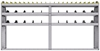 "25-9548-3 Profiled back bin separator combo Shelf unit 94""Wide x 15.5""Deep x 48""High with 3 shelves"
