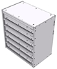 "16-2526-600 Tool drawer 24"" Wide X 15.5"" Deep X 25-11/16"" High with 6 drawers"