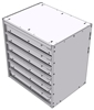 "16-2826-600 Tool drawer 24"" Wide X 18.5"" Deep X 25-11/16"" High with 6 drawers"