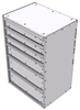"16-2836-312 Tool drawer 24"" Wide X 18.5"" Deep X 35-11/16"" High with 6 drawers"