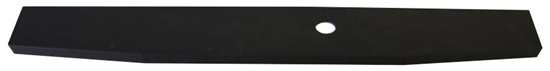 """31-FT10-41 Black rear sill for a Ford Transit 130"""" Wheelbase"""