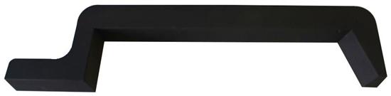 31-GM20-31 Side sill for a GMC Savana / Chevy Express 155'' Extended Wheelbase