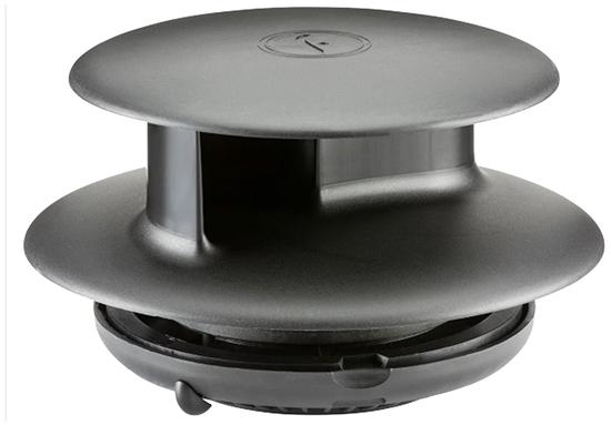 30-FLT-BLK Flettner TCX-2 Ventilator STD Base Black