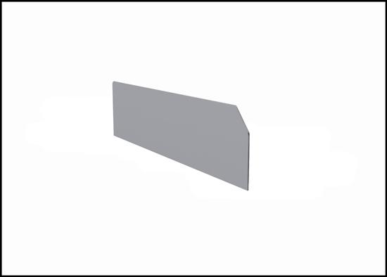 DV-631 6 narrow high shelf dividers