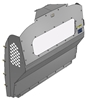 10-MM01-123 Window Contoured Partition for Mercedes-Benz Metris Std. Roof