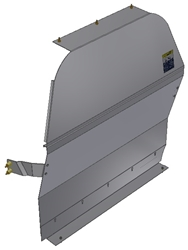 10-NN01-121 Solid Contoured Partition for NV200 Std. Roof
