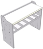 "18-5836-1W Workbench 48""Wide x 18.5""Deep x 36""high with 1 standard divider shelf and a 1.5"" thick hardwood worktop"