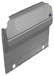 10-RP00-122 Mesh Contoured Partition for Ram Promaster